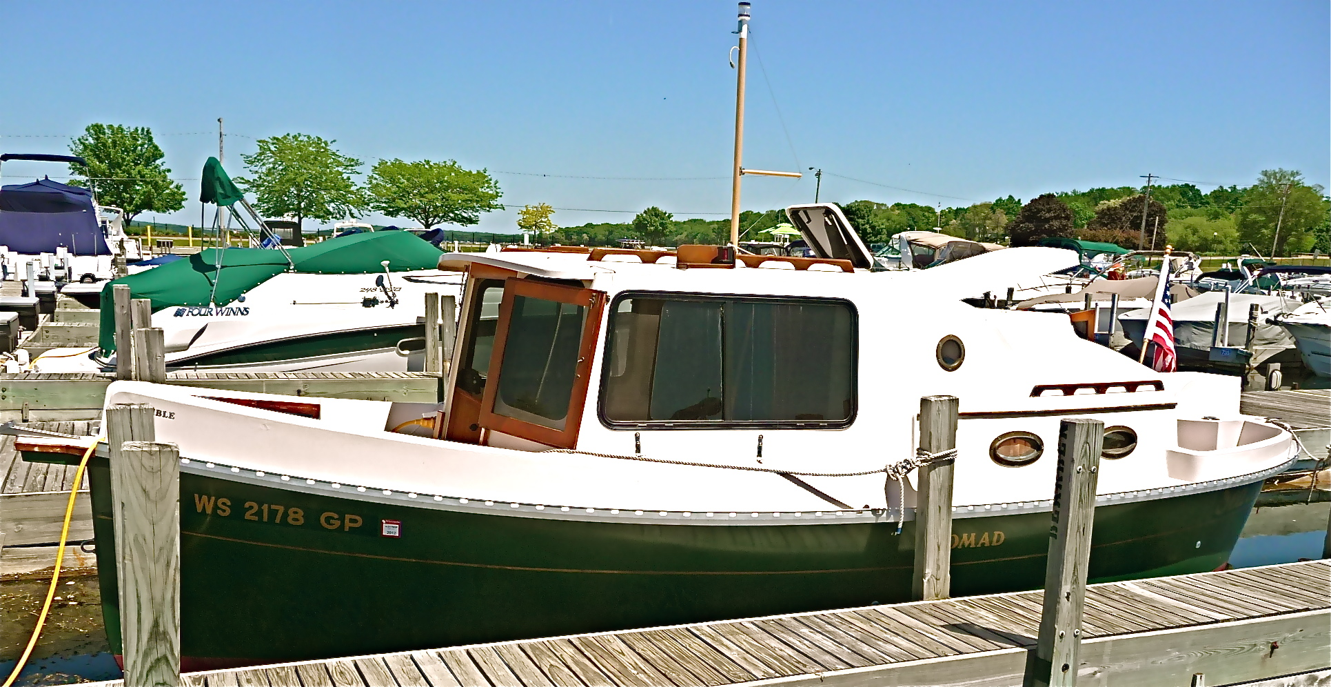 For Sale Small Trawler Yacht