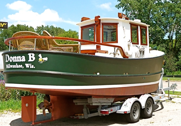 Lale topic drift boat kits sale for Garden design trawler boat