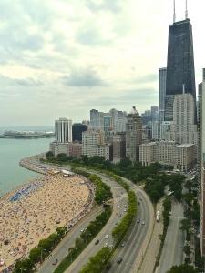 Oak Street Beach, Chicago 2014