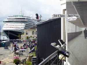 Queen Victoria at Cobh, IrelandMay7, 2015